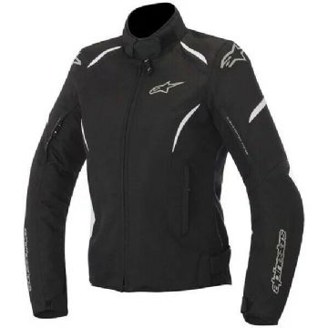Alpinestars Stella Gunner Ladies Woman Motorcycle Motorbike Jacket Black White